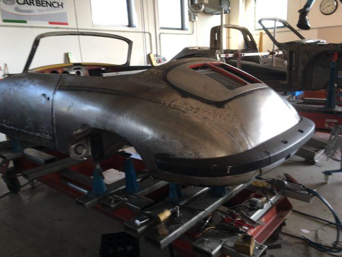 PORSCHE 356 CABRIOLET SC