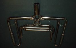 356 SEBRING STYLE MUFFLER (STAINLESS STEEL) / MARMITA QUATTRO IN UNO ACCIAIO INOX