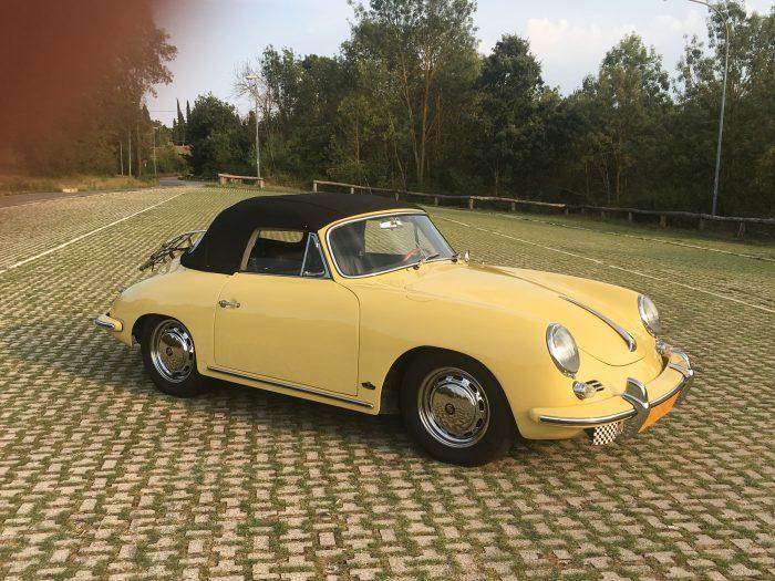 Porsche 356 SC Cabriolet 1964